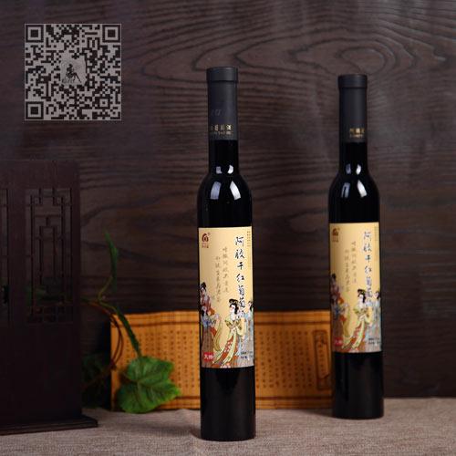 阿胶干红养生葡萄酒