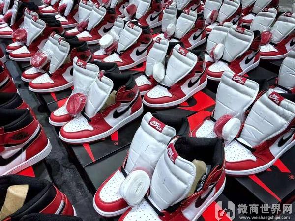 品牌运动鞋工厂直销,免费招微信代理