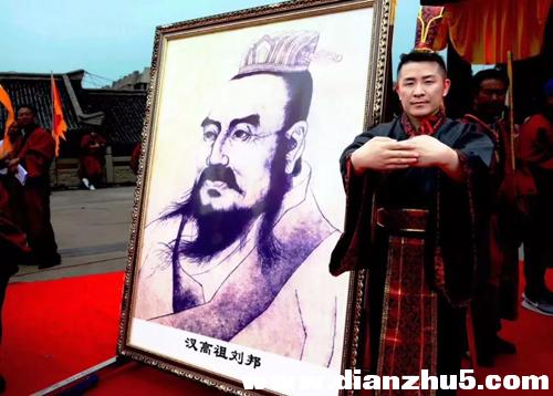 刘邦74代世孙刘可荣沛县祭祖归来,千年管理文化当下再续辉煌