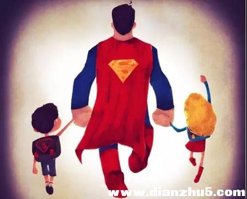 父亲节|我永远的超级英雄